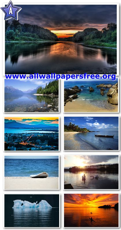 30 Stunning Waterscapes Widescreen HD Wallpapers 1920 X 1200 [Set 6]