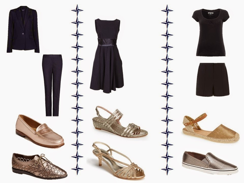 What color shoes to wear with a rose gold dress weddings for What colour shoes with navy dress for wedding