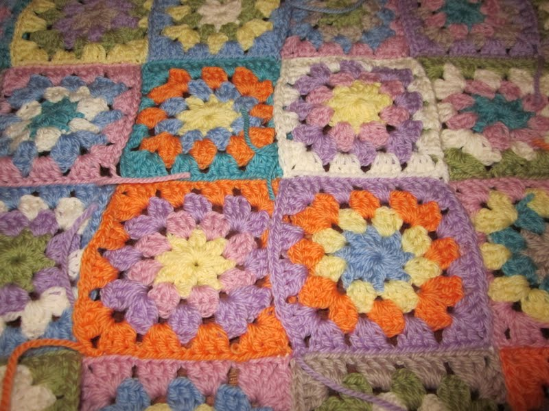 Now I just need to make a start on the final 40 squares, I think I'll