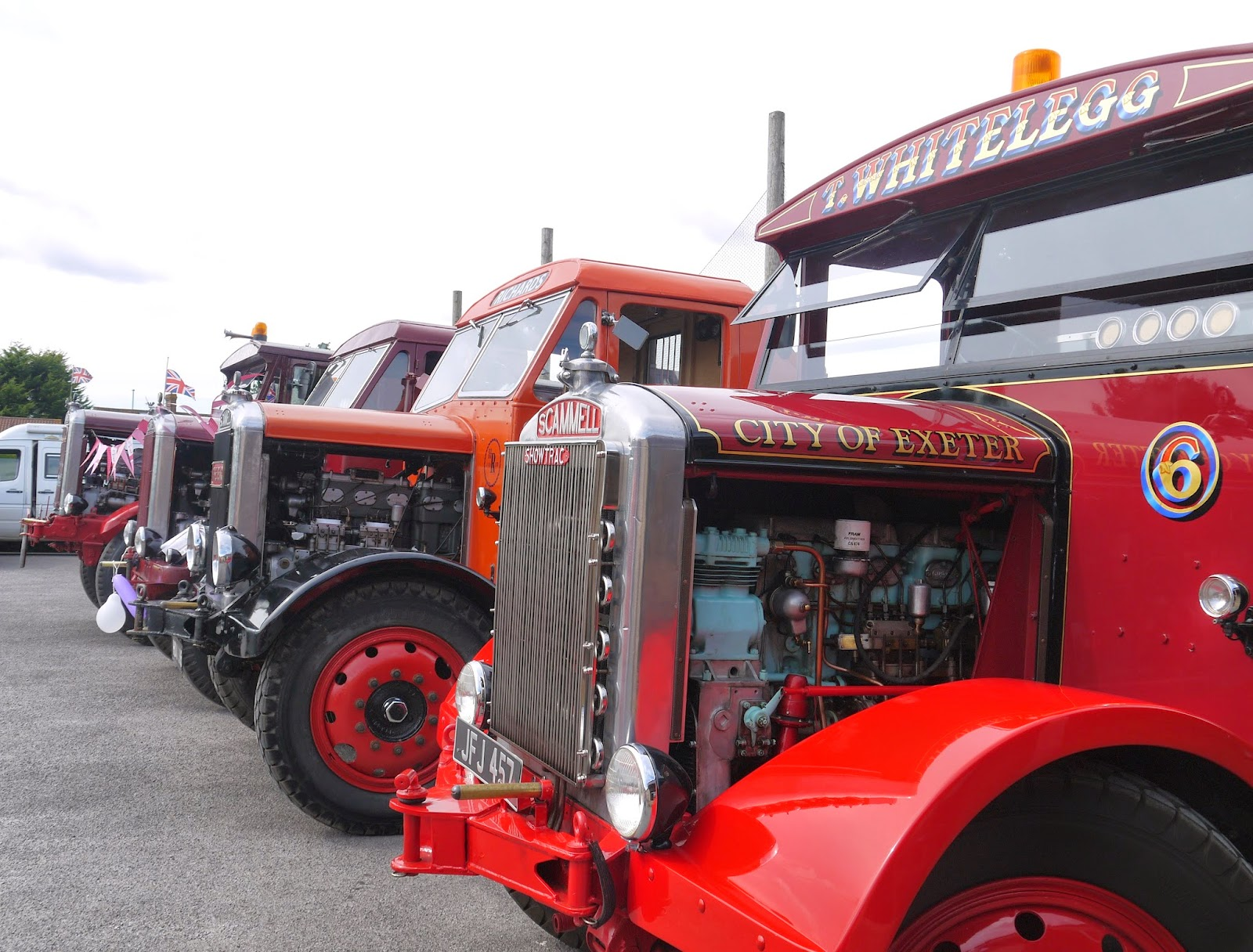 Scammell lorry display