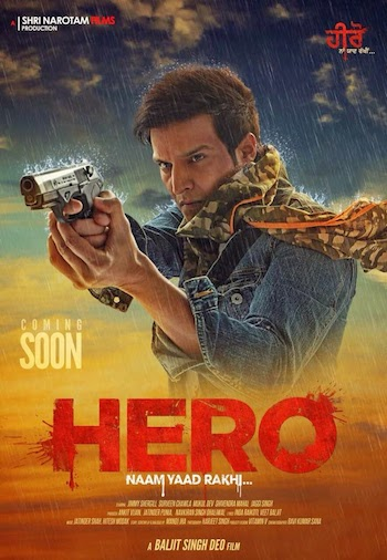 Hero Naam Yaad Rakhi (2015) Punjabi PDVD 700mb