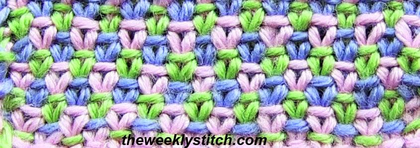 Knitting Linen Stitch On Circular Needles : June 2013 The Weekly Stitch