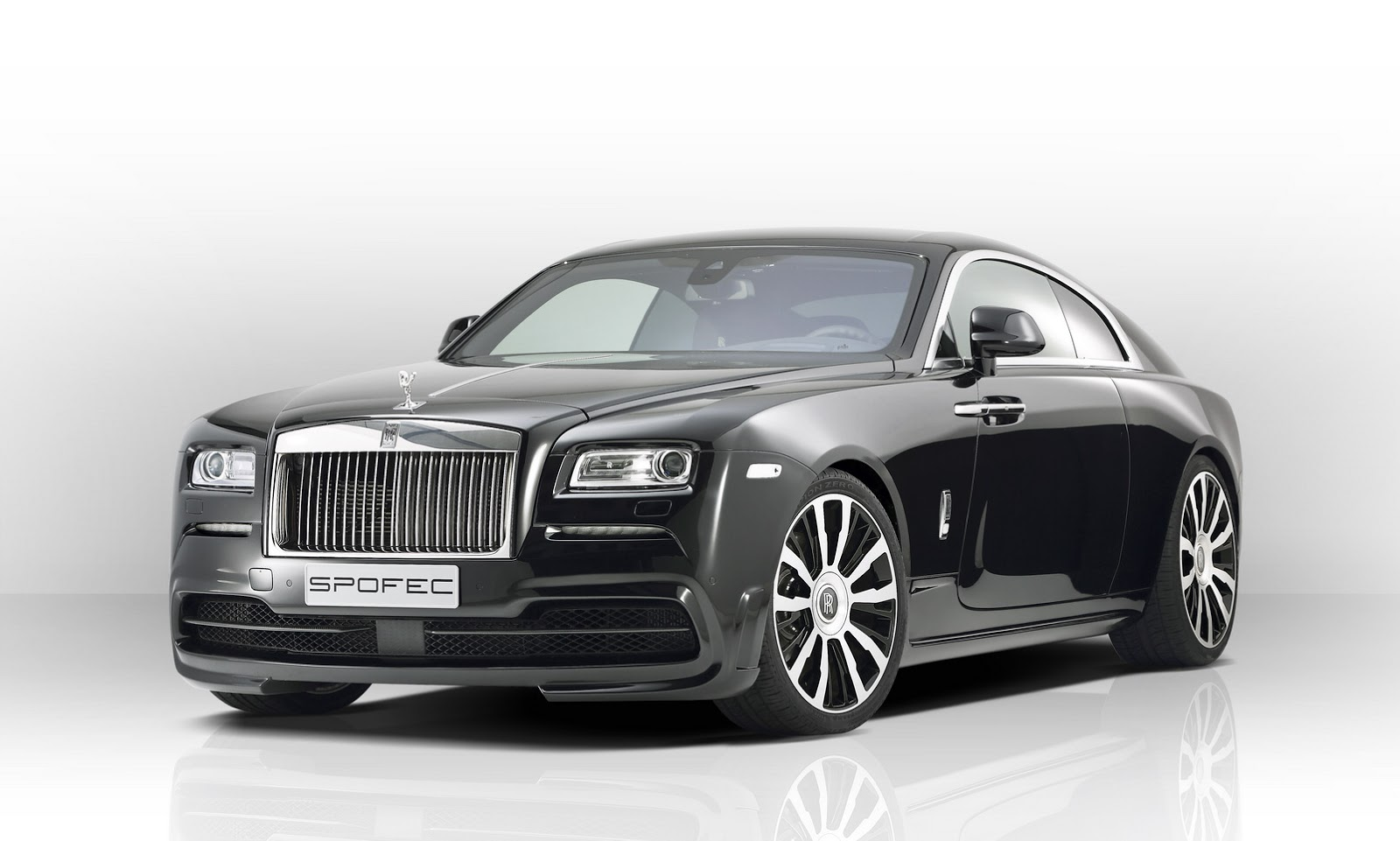would you tune a rolls royce wraith coupe like this