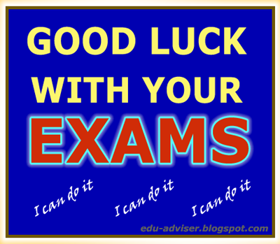 Good Luck on The Exam Good Luck on Final Exams