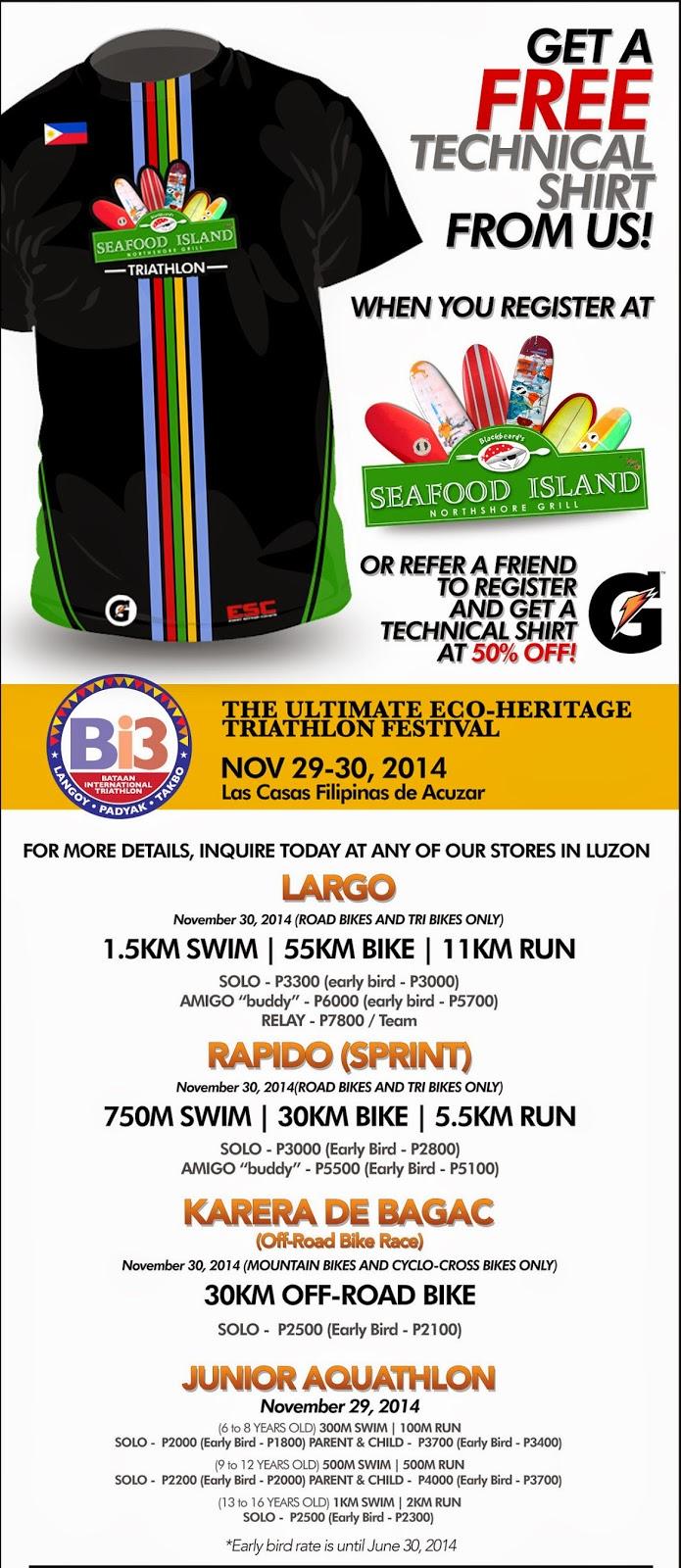 Seafood Island Bataan International Triathlon