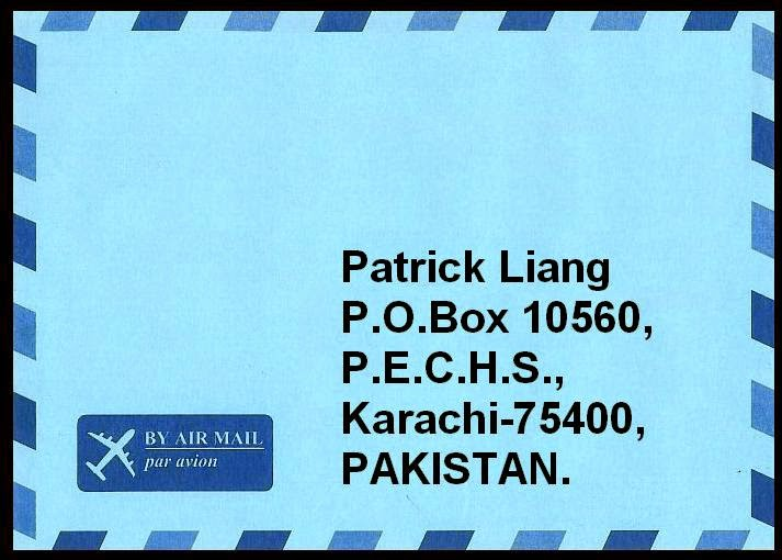 My Postal Address