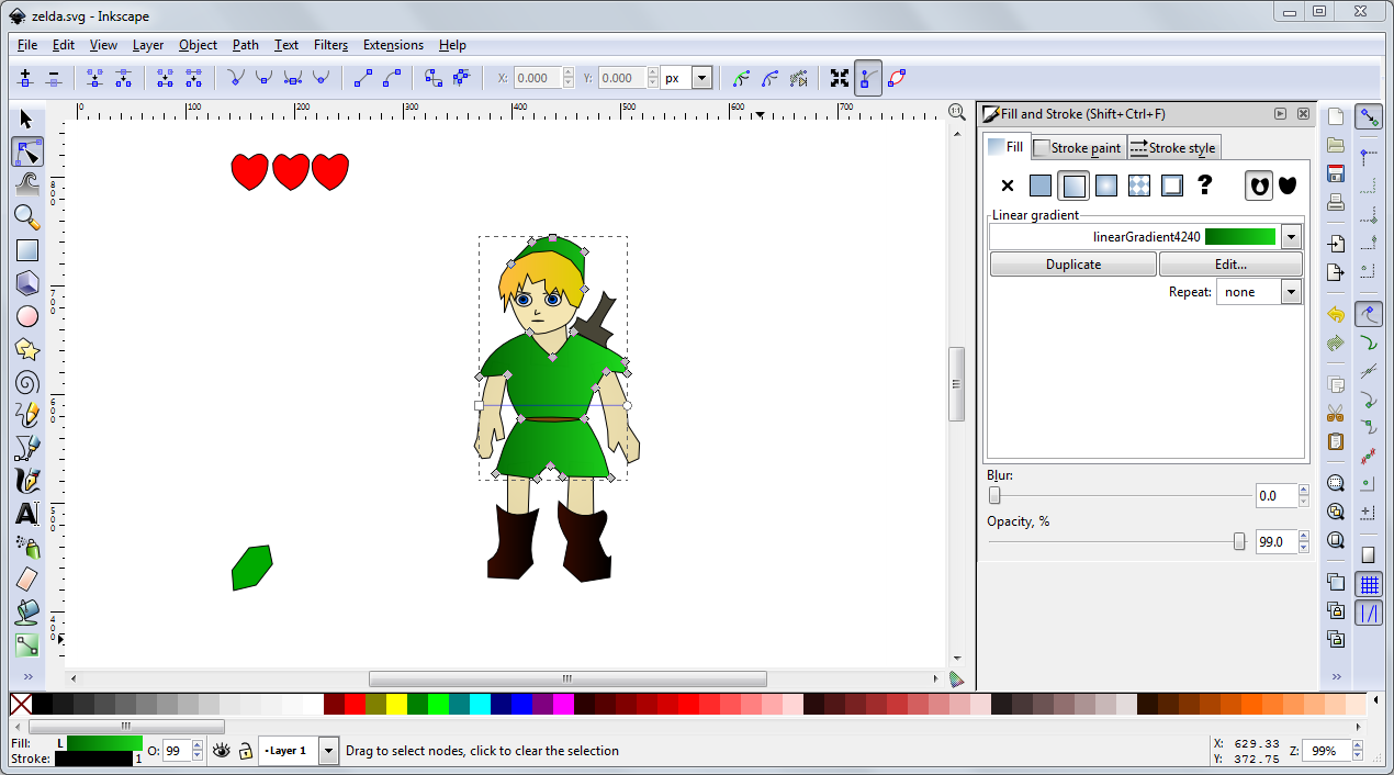 2d Animation Software Free Download For Windows 8: inkscape software