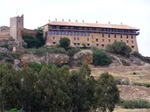 Parador Nacional situado en la parte alta de la localidad.