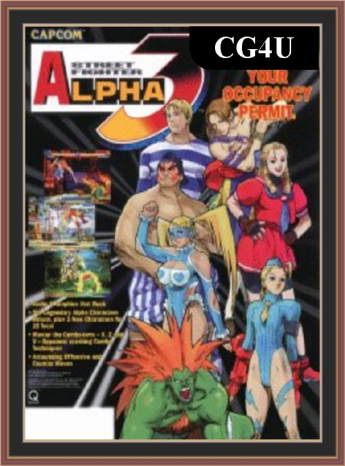 Street Fighter Alpha 3 Cover | Street Fighter Alpha 3 Poster
