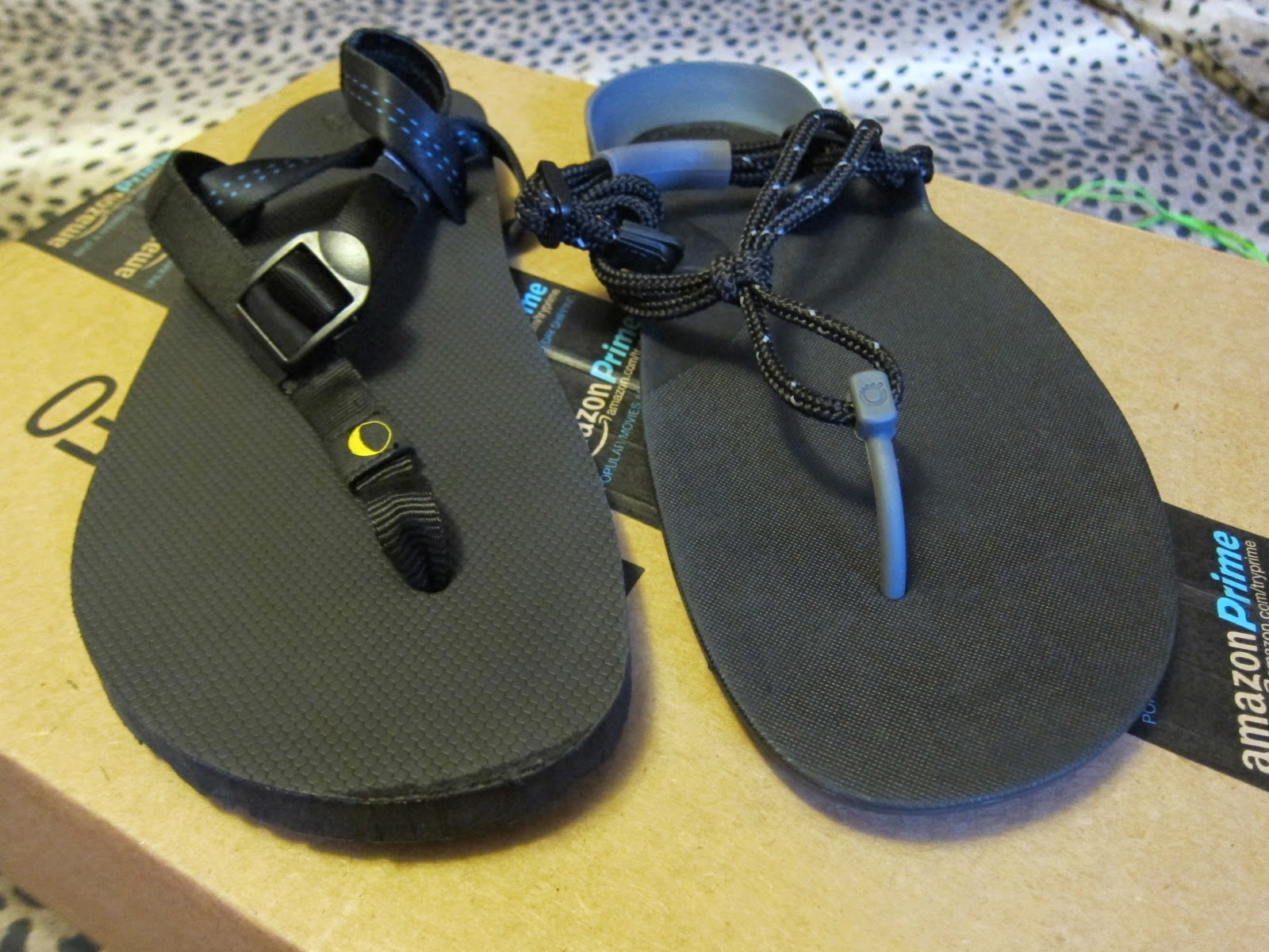 Luna Mono vs. Xero Shoes Sensori Sandals