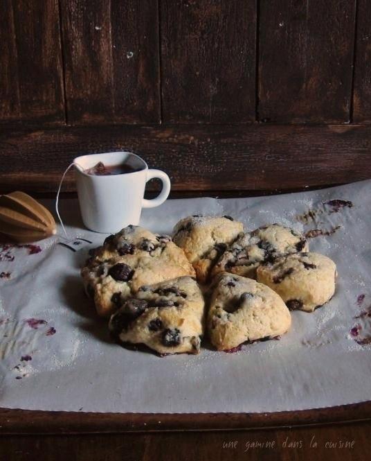 Blueberry Orange Scones | une gamine dans la cuisine