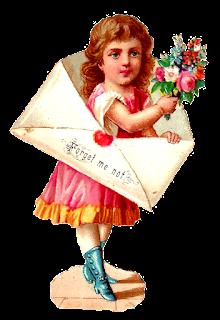 stock girl image vintage