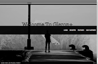 Gleron login Page