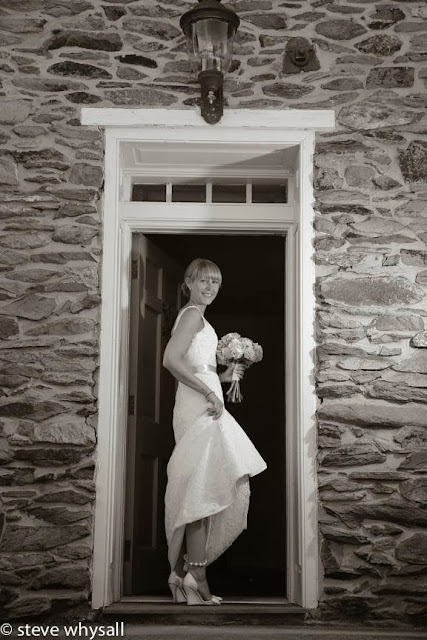 Stone Manor Country Club Bridal Portrait