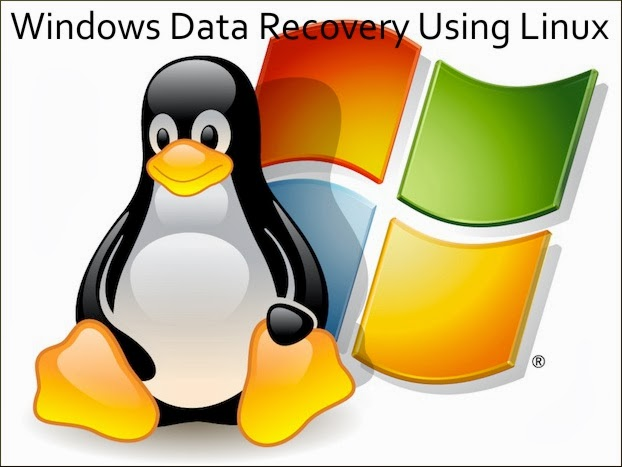 Windows Data Recovery Using Linux