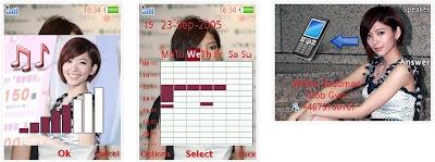 郭雪芙@Dream Girls SonyEricsson手機主題for Elm/Hazel/Yari/W20﹝240x320﹞