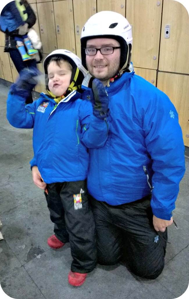 Ready to go Snow Park at Chill Factore Christmas 2014