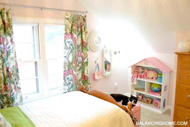 Antes y después habitación infantil