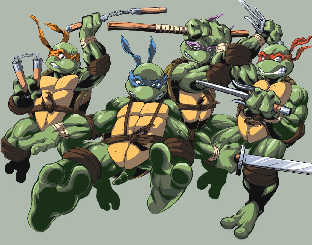 Anime cartoon comic art 5 teenage mutant ninja turtles gallery