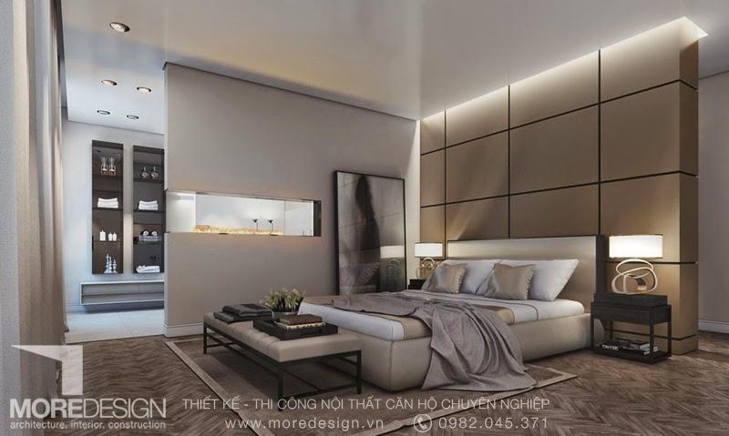 Thiết kế phòng ngủ hiện đại tinh tế