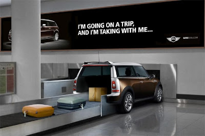 Mini Cooper Clubman Advertisement