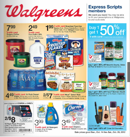 Walgreens extreme couponing deals