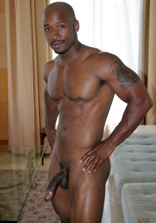 from Grayson hot sexy nude black men