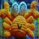 free amigurumi pattern crab