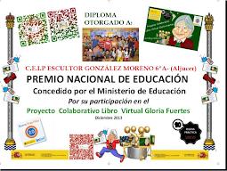 NUESTRO PROYECTO DE GLORIA FUERTES PREMIO NACIONAL DE EDUCACIÓN