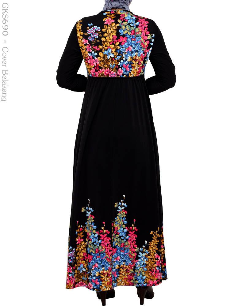 Gamis cantik muslimah gks690 busana muslim murah terbaru Suplier baju gamis remaja harga pabrik bandung