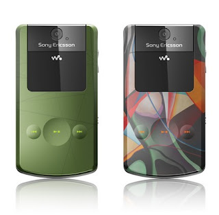 Sony Ericsson W508 has very attractive front design