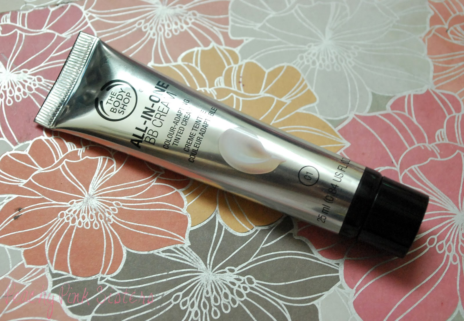 Peachy Pink Sisters Review The Body Shop All In One Bb Cream Laneige Lip Eye Make Up Remover Waterproof Ex 25ml There They Also Introduced Us To Their New Line And Were So Kind Give Samples That Our Shade