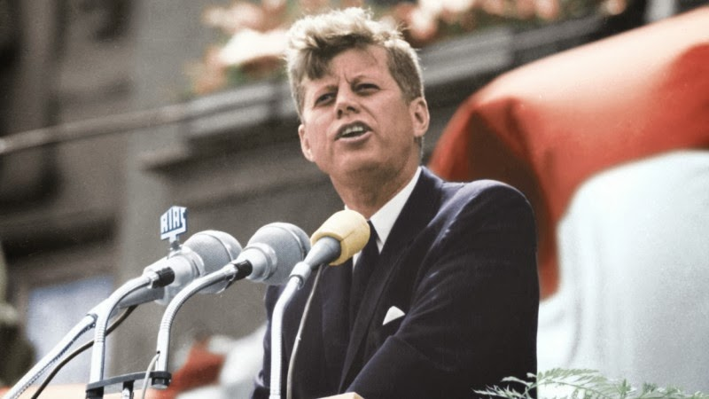 john f kennedy thesis paper