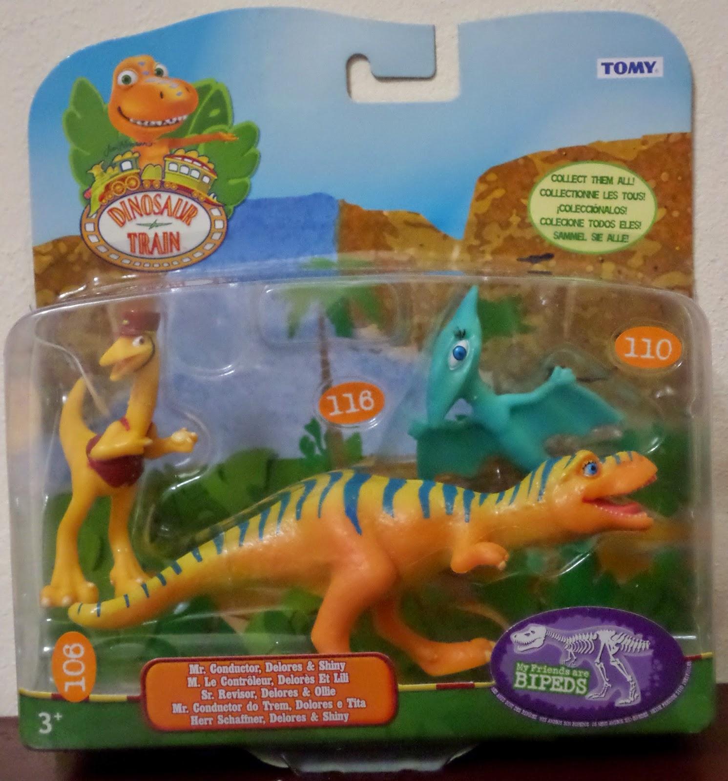 Dinosaur Train Mr Conductor, Delores,