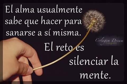 Permítete el silencio