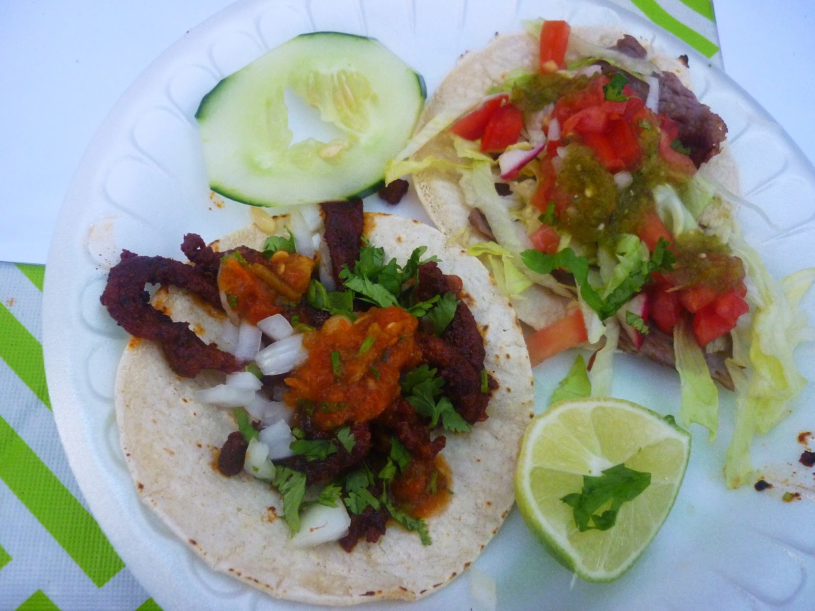Piaztlan Authentic Mexican's Vendy Cup winning tacos