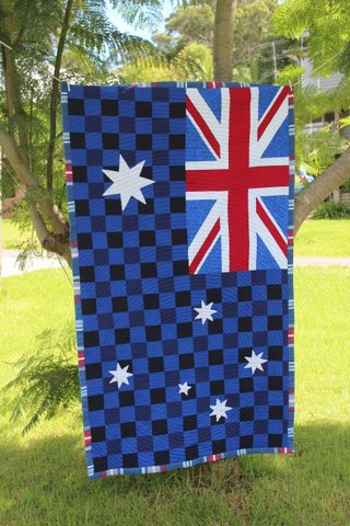 In Honour Of Australia Day I Thought Would Re Run Some The Awesome Aussie Themed Quilts And Laundry Bags That Have Been Made Over Years