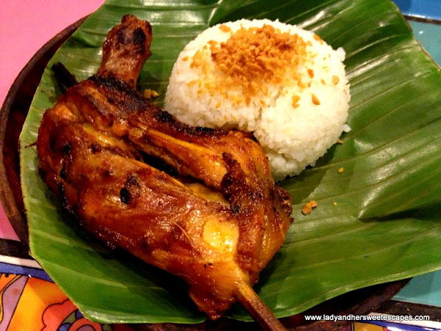 Chicken inasal with rice At Bacolod-Chicken- House