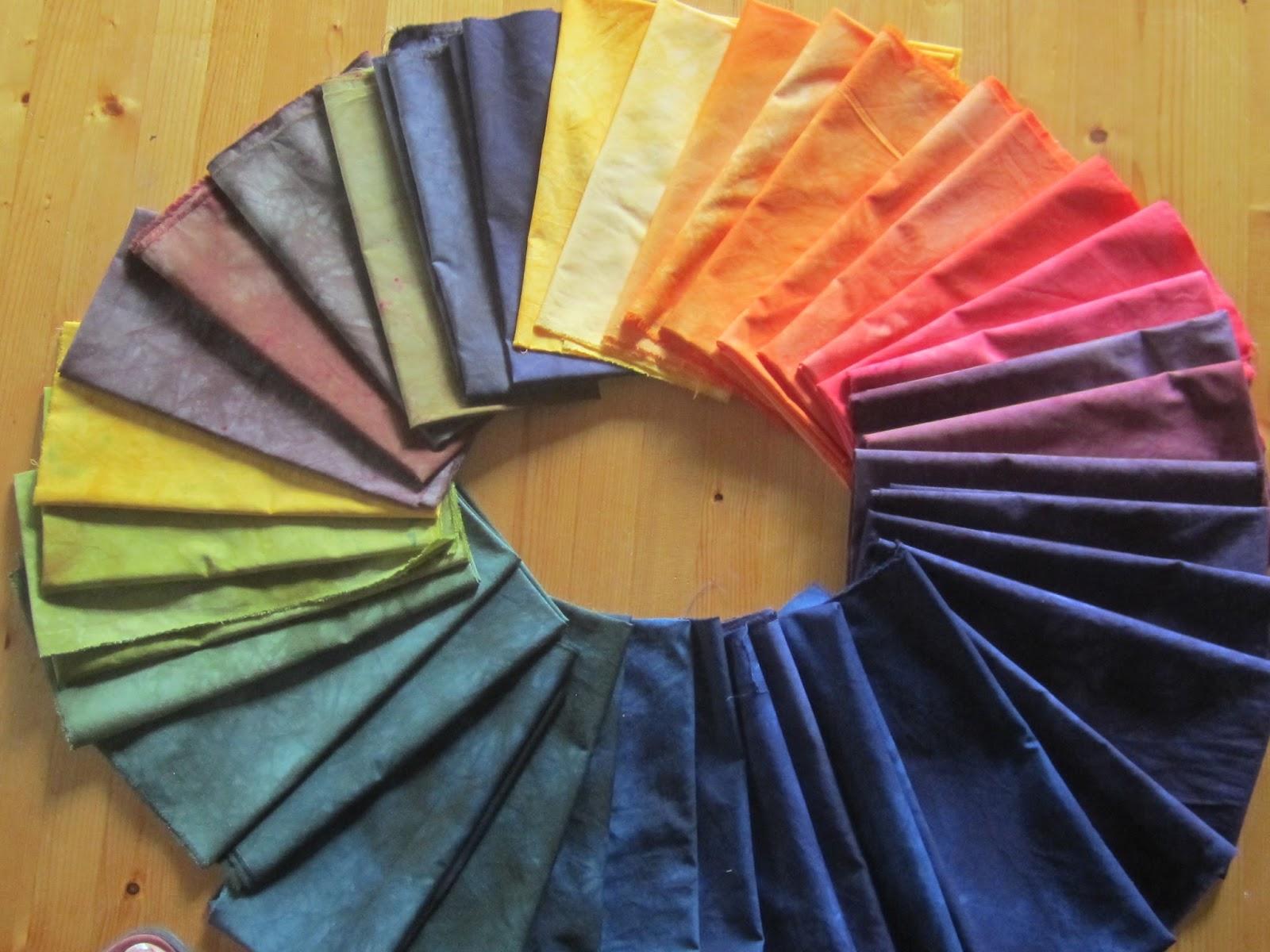 Kleurrijk leven: stofverven