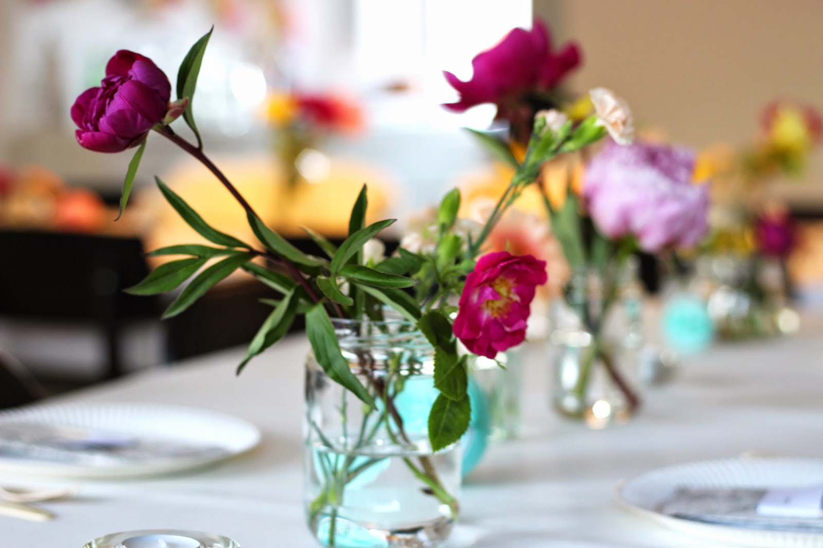 wedding party, diy, table setting, decoration, via www.scandinavianlovesong.com