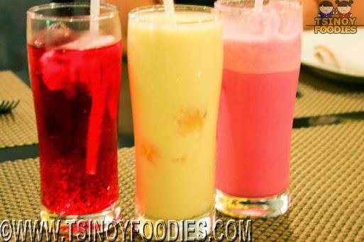 sherbet soda mango lassi rose lassi