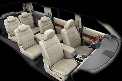 Interior of Ford Flex images