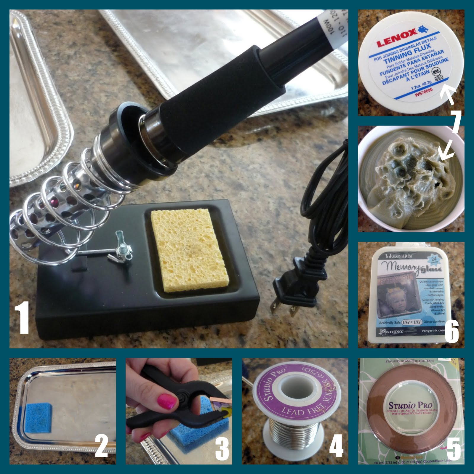 Guest project make soldered pendants tutorial soldering iron aloadofball Image collections