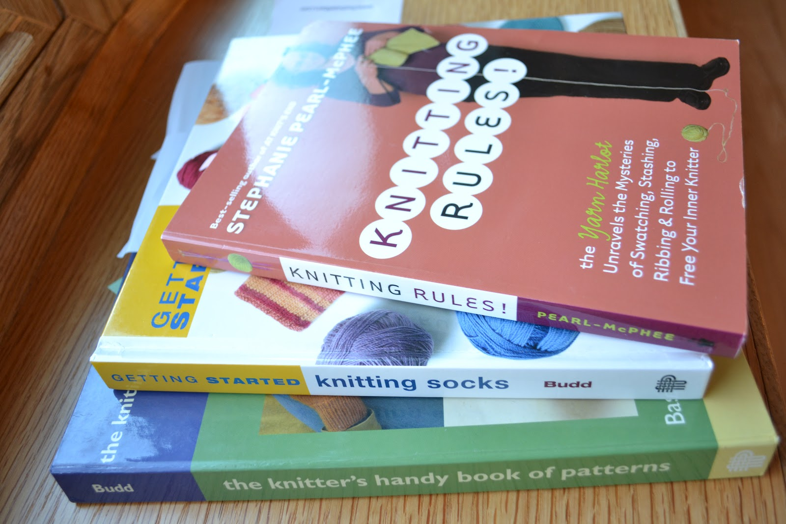 Susan b anderson how i make my socks here are the books i constantly recommend to people for basic sock instruction and know how knitting rules stephanie pearl mcphee pg bankloansurffo Gallery