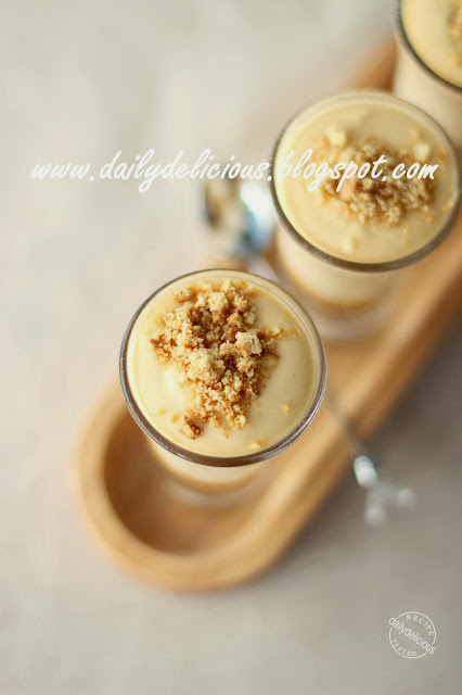 ... : Quick fix dessert: Verrines Salted Butter Caramel Mousse