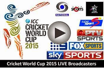 Get ICC Cricket World Cup 2015 - Live Streaming, Live Scores, Highlights, commentary, Teams - The next Cricket world cup 2015 Hosted by Australia and New Zealand.