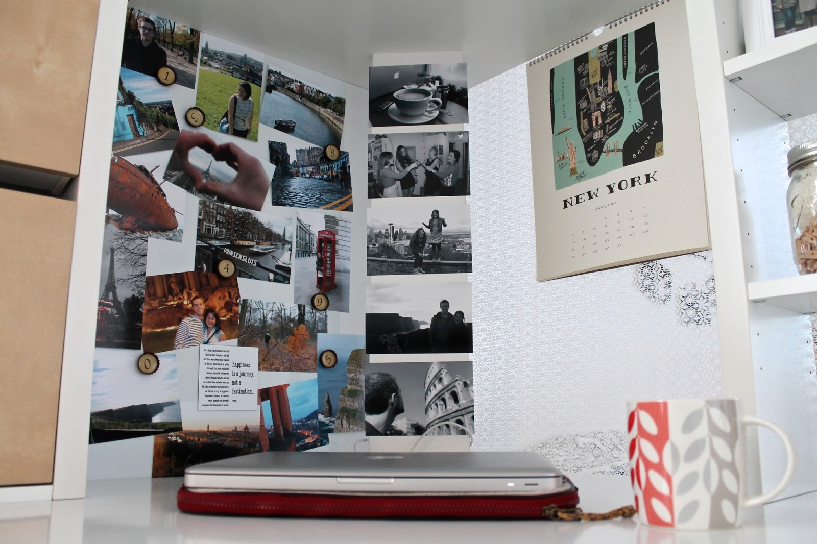 diy-photo-display-with-magnets-for-college-apartment