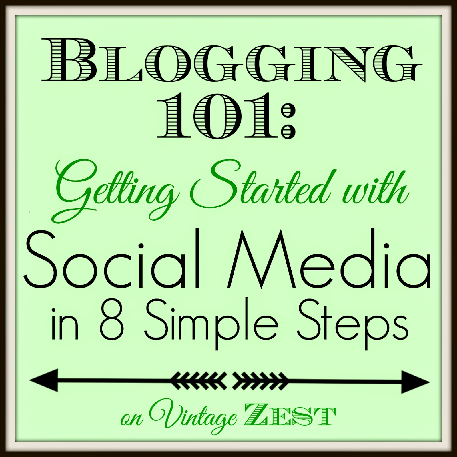 Blogging 101: Getting Started with Social Media in 8 Simple Steps