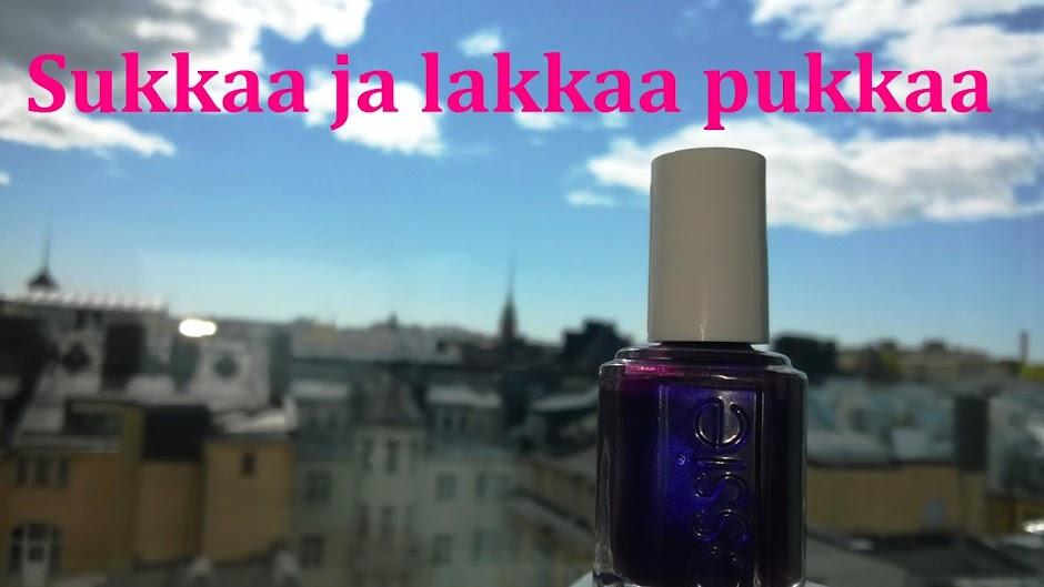 Kynsilakkablogi.fi | Sukkaa ja lakkaa pukkaa