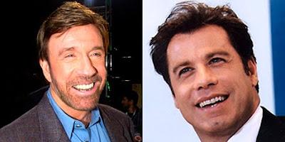 Chuck Norris y John Travolta, posibles actores de Los mercenarios 2
